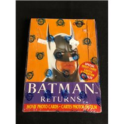 (OPC) BATMAN RETURNS MOVIE PHOTO CARDS HOBBY BOX