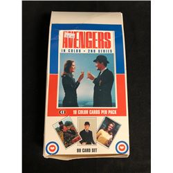 AVENGERS IN COLOUR TRADING CARDS HOBBY BOX