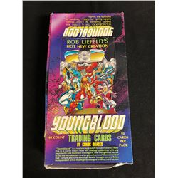 (COMIC IMAGES) YOUNGBLOOD TRADING CARDS HOBBY BOX