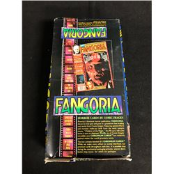 (COMIC IMAGES) FANGORIA HORROR CARDS HOBBY BOX