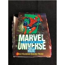 (SKYBOX) MARVEL UNIVERSE SERIES 3 HOBBY BOX