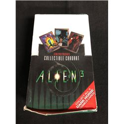 ALIEN 3 TRADING CARDS HOBBY BOX