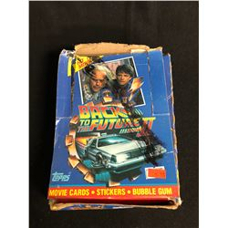 (TOPPS) BACK TO THE FUTURE II TRADING CARDS HOBBY BOX