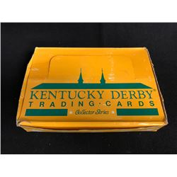 KENTUCKY DERBY TRADING CARDS COLLECTOR SERIES HOBBY BOX