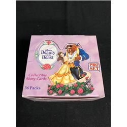 (PRO SET) BEAUTY AND THE BEAST COLLECTIBLE STORY CARDS HOBBY BOX