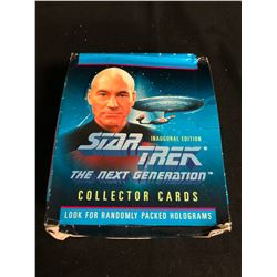 STAR TREK THE NEXT GENERATION COLLECTOR CARDS HOBBY BOX