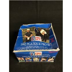 (PRO SET) 1992 PGA TOUR TRADING CARDS HOBBY BOX