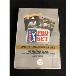 (PRO SET) PGA TOUR CARDS HOBBY BOX *SPECIAL INAUGURAL SET*