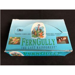 FERNGULLY THE LAST RAINFOREST TRADING CARDS HOBBY BOX