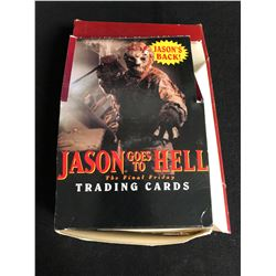 JASON GOES TO HELL THE FINAL FRIDAY TRADING CARDS HOBBY BOX