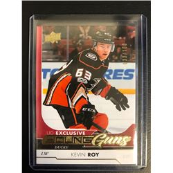 2017-18 UD EX Young Guns #468 Kevin Roy