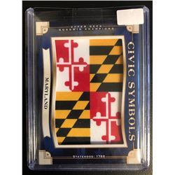 2019 UD Goodwin Civic Symbols Patch USF-7 Maryland