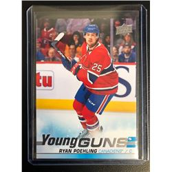 2019-20 Upper Deck #226 Ryan Poehling Young Guns Card
