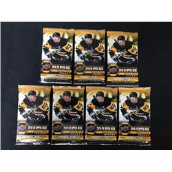 2019-20 UPPER DECK HOCKEY SERIES ONE HOCKEY CARD PACKS LOT