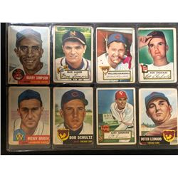 VINTAGE BASEBALL CARD LOT