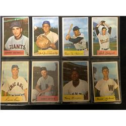 1954 BOWMAN BASEBALL CARD LOT