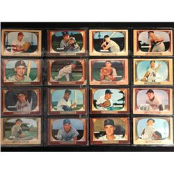 1955 BOWMAN BASEBALL CARD LOT