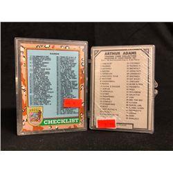 COLLECTORS CARDS LOT (DESERT STORM/ ARTHUR ADAMS)