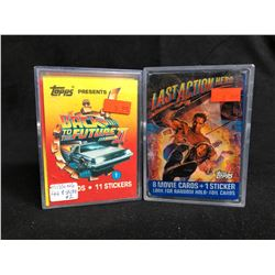 COLLECTORS CARDS LOT (BACK TO THE FUTURE II/ LAST ACTION HERO)