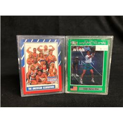 COLLECTOR TRADING CARDS LOT (THE AMERICAN GLADIATORS/ TOUR STAR TENNIS)