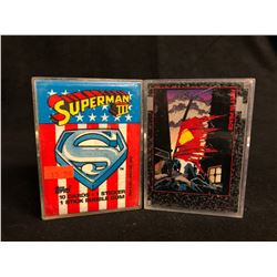 COLLECTOR TRADING CARDS LOT (SUPERMAN III/ REST IN PEACE)