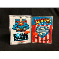 COLLECTOR TRADING CARDS LOT (COSMIC CARDS/ SUPERMAN III)