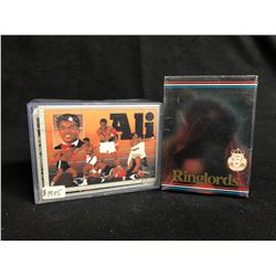 COLLECTOR BOXING TRADING CARDS LOT (ALI/ RINGLORDS)