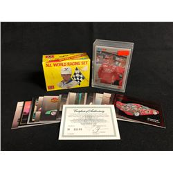 COLLECTOR RACING TRADING CARDS LOT