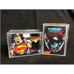 COLLECTOR TRADING CARDS LOT (SHADOW HAWK/ SUPERMAN)