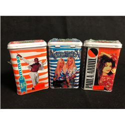 COLLECTOR TRADING CARDS HOBBY TINS LOT (MC HAMMER/ NELSON/ PAULA ABDUL)