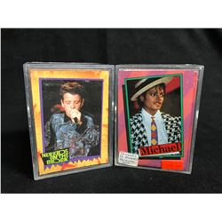 COLLECTOR TRADING CARDS LOT (NEW KIDS ON THE BLOCK/ MICHAEL)