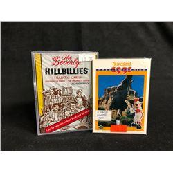 COLLECTOR TRADING CARDS HOBBY BOX LOT (THE BEVERLEY HILLBILLIES/ 1991 DISNEYLAND)