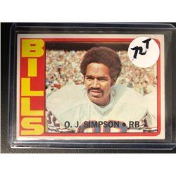 1972 Topps #160 O.J.Simpson