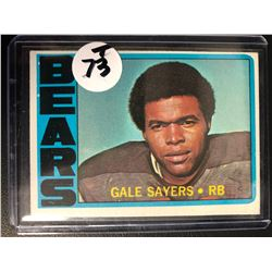1972 Topps #110 Gale Sayers