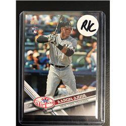 Aaron Judge 2017 Topps Update Series Rookie Debut #US99 New York Yankees