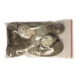Bag of (100) Silver Walking Liberty Half Dollar Coins - $50 Face Value