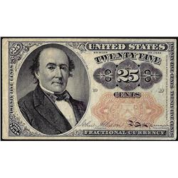 1874 Twenty-Five Cent Fifth Issue Fractional Currency Note