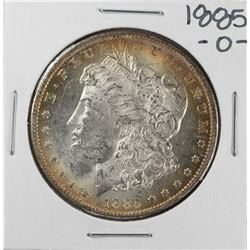 1885-O $1 Morgan Silver Dollar Coin Nice Toning