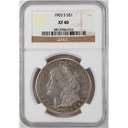 1903-S $1 Morgan Silver Dollar Coin NGC XF40