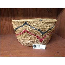 "Nice BC Native Basket 11""w x 9"" x 6.5""H"