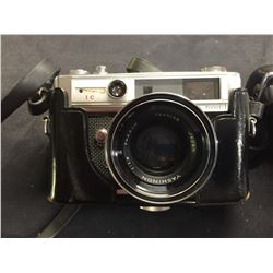 Vintage Yashica Camera in Case, Made in Japan LYNX 5000 E