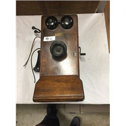 Antique Northern Electric Made In Canada Wall Telephone. With working insides. Bell Works, Everythin