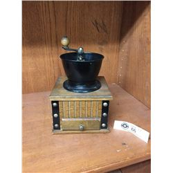 Vintage Hand Crank Coffee Grinder