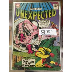 DC Comics Tales of the Unexpected No. 53 In Plastic Bag on White Boards