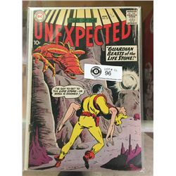 DC Comics Tales of the Unexpected No. 52 In Plastic Bag on White Boards