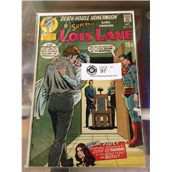 "DC Comics Superman's Girlfriend Lois Lane No.105 "" Death House Honeymoon""In Plastic Bag on White Boa"