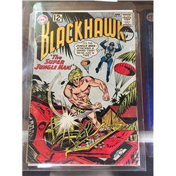 """DC Comics  Blackhawk. In Plastic Bag on White Board No. 173 """" The Super Jungle Man"""""""