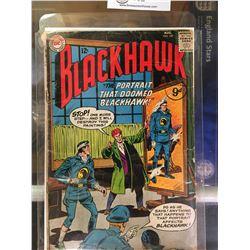 "DC Comics  Blackhawk. In Plastic Bag on White Board No. 187 "" The Portrait That Doomed Blackhawk"""