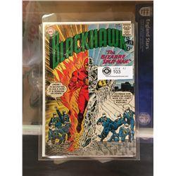 "DC Comics  Blackhawk. In Plastic Bag on White Board No. 184"" The Bizarre Split Man"""