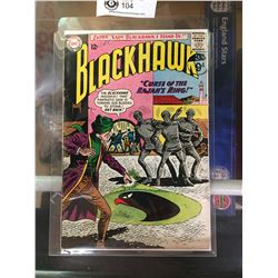 "DC Comics  Blackhawk. In Plastic Bag on White Board No. 182"" The Curse of The Rajah's Ring"""